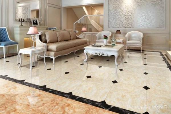 客厅铺贴什么瓷砖比较好 安利走一波